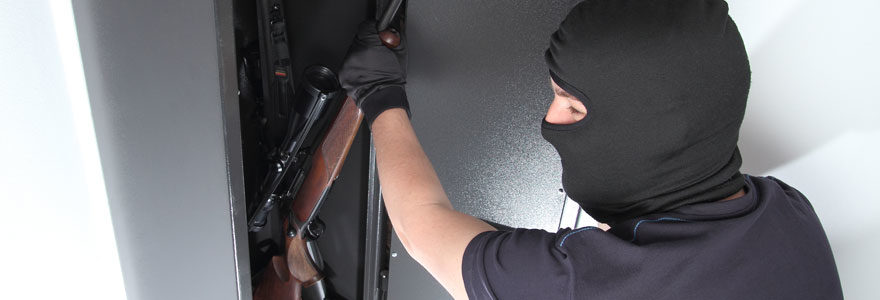 Armoire rangement fusil