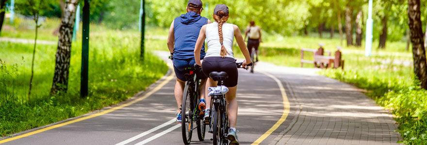 promenades à vélo